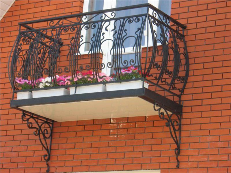 Кованый балкон цена фото Наковали