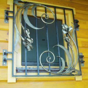 Кованые решетки на окна в Донском от Наковали