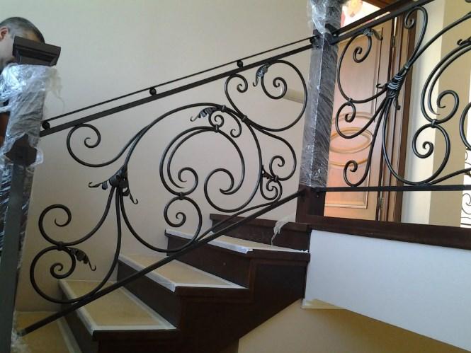 Кованые перила для лестницы Наковали Цена