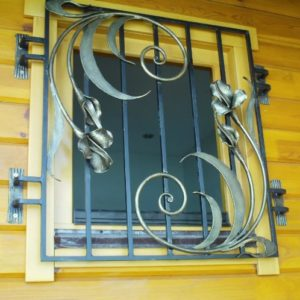 Кованые решетки на окна от Наковали