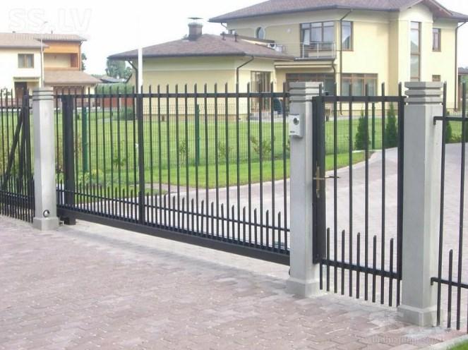 Кован-сварные ворота откатные №60 Цена: 6800 руб/м2
