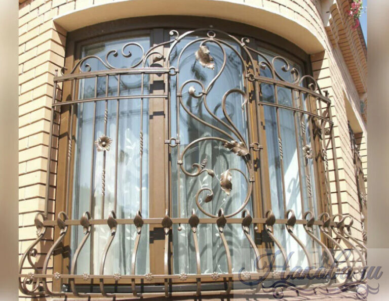 Кованые решетки на окна каталог от Наковали