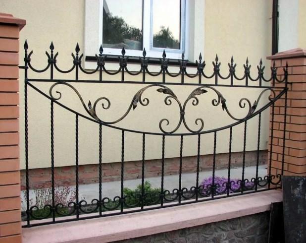 Кованный забор декоративный от Наковали