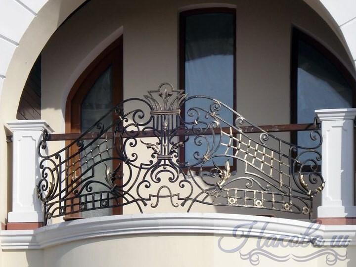 Кованые перила для балкона цена от Наковали