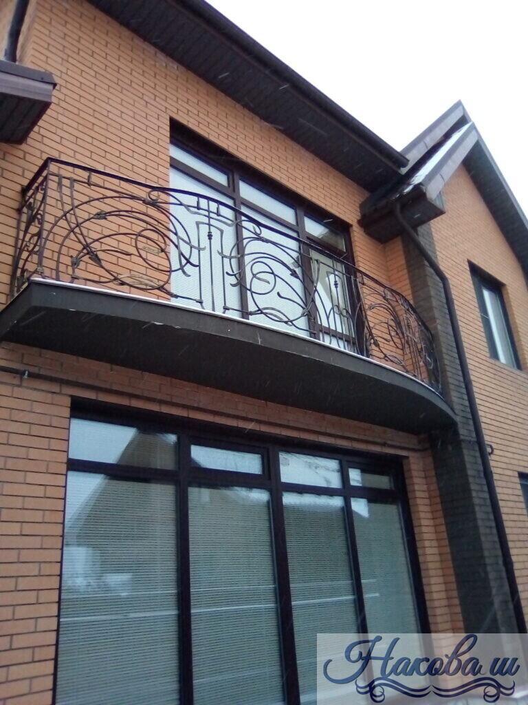 Кованые перила для балкона от Наковали