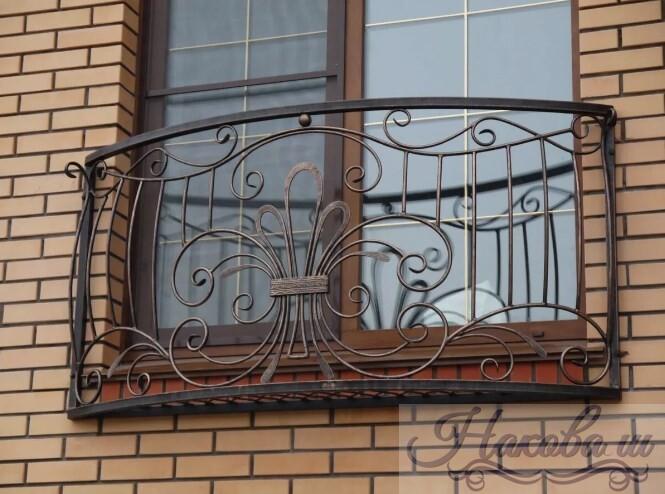 Кованые перила для фальш-балкона стоимость от Наковали