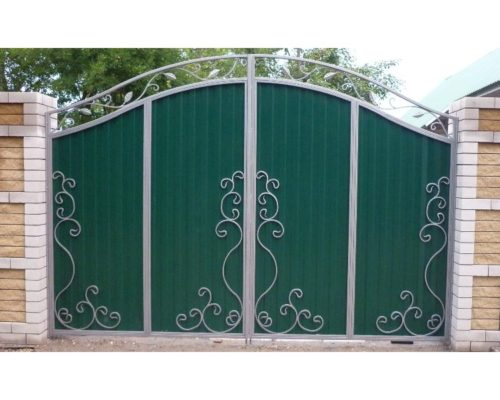 Кованые ворота 22