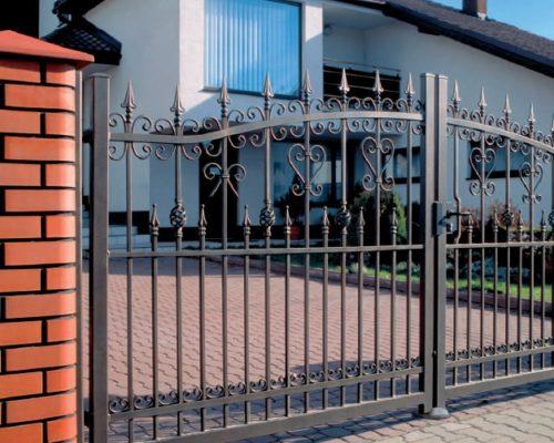 Кованые ворота 37