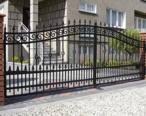 Кованые ворота 41