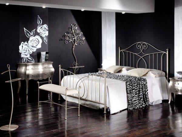 Кованая мебель для спальни от Наковали