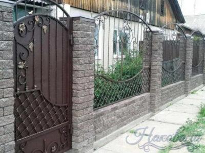 Кованый забор от Наковали цена