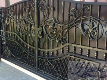Кованые ворота откатные от Наковали