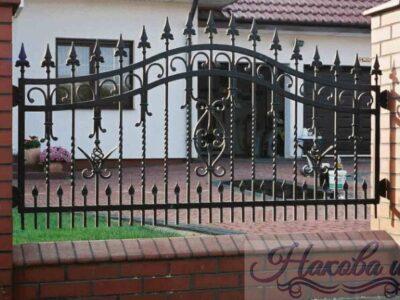 Кованый забор 1