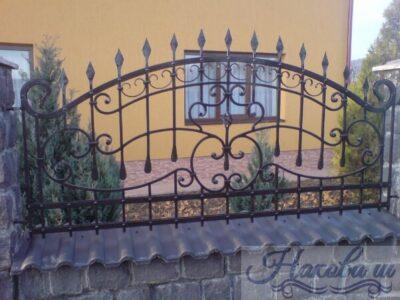 Кованый забор 23