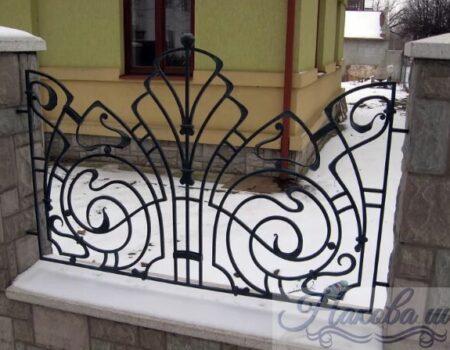Кованый забор 26