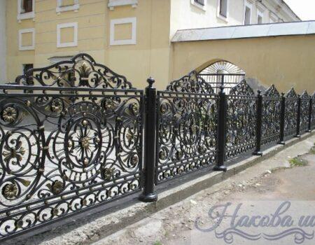 Кованый забор 28