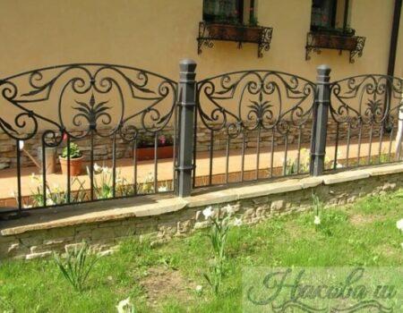 Кованый забор 29