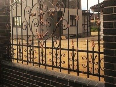 Кованый забор 3