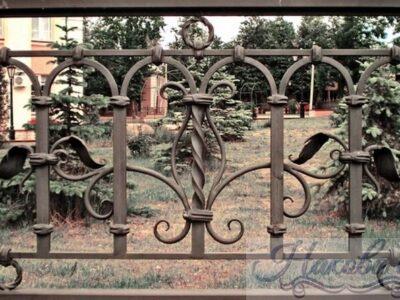 Кованый забор 36