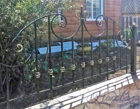 Кованый забор 38