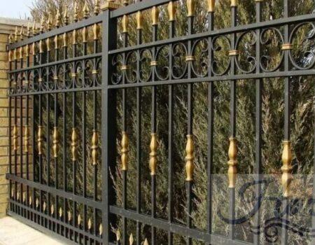 Кованый забор 41
