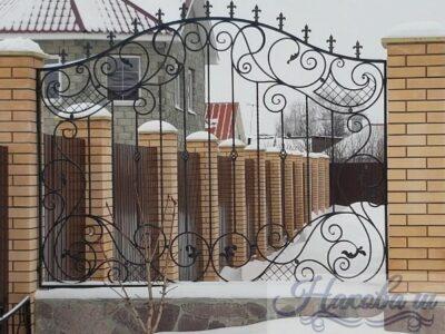 Кованый забор 48