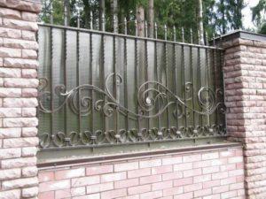 Кованый забор и ограждения