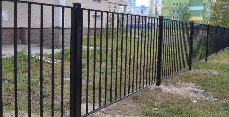 Сварной забор металлический в Щекино