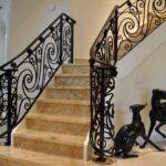 Кованые перила для лестниц в Алексине