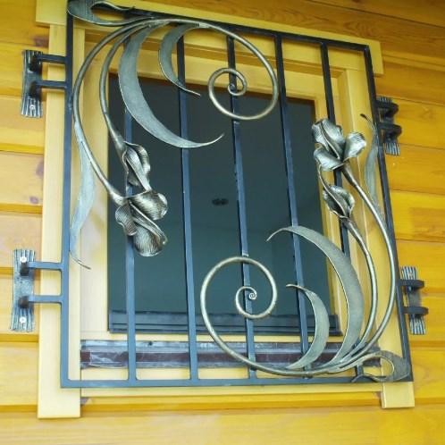 Кованые решетки на окна в Алексине