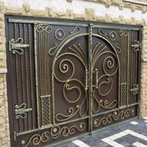 Кованые ворота в Туле от Наковали