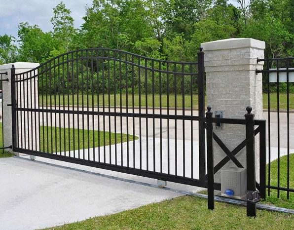Кован-сварные ворота откатные №56 Цена: 6500 руб/м2