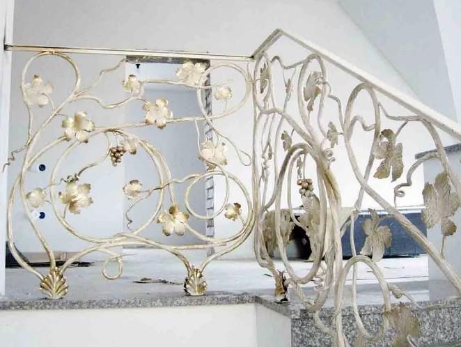 Кованые перила для лестницы виноградная лоза с виноградом цена Наковали