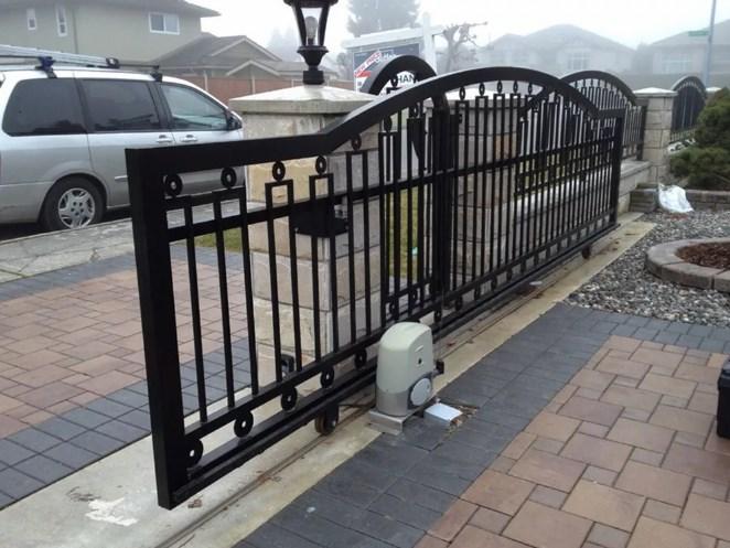 Кован-сварные ворота откатные №48 Цена: 8600 руб/м2