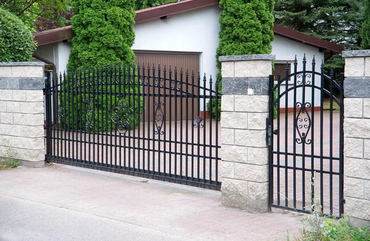 Кован-сварные ворота откатные №62 Цена: 8800 руб/м2
