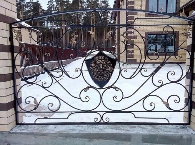 Кованный забор цена от Наковали