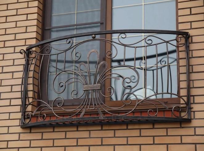 Кованый фальш-балкон цена от Наковали