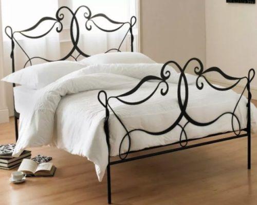 Кованая кровать и вешалка кованая мебель от Наковали1