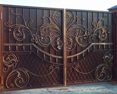 Кованые ворота эксклюзивные Наковали