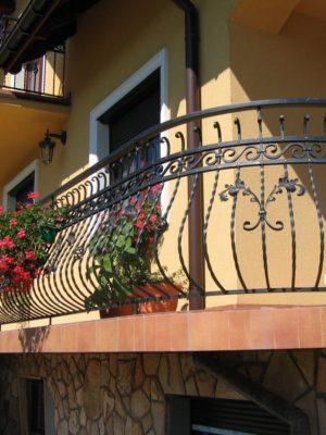 Кованый балкон в Щекино